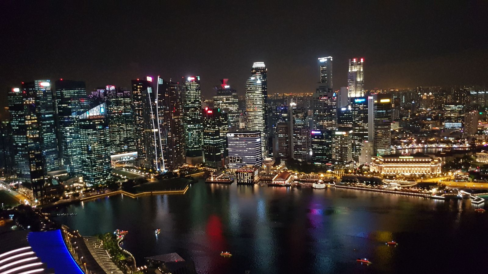 SkyPark observation deck Singapore